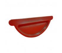 Capac pentru jgheab,  roșu...